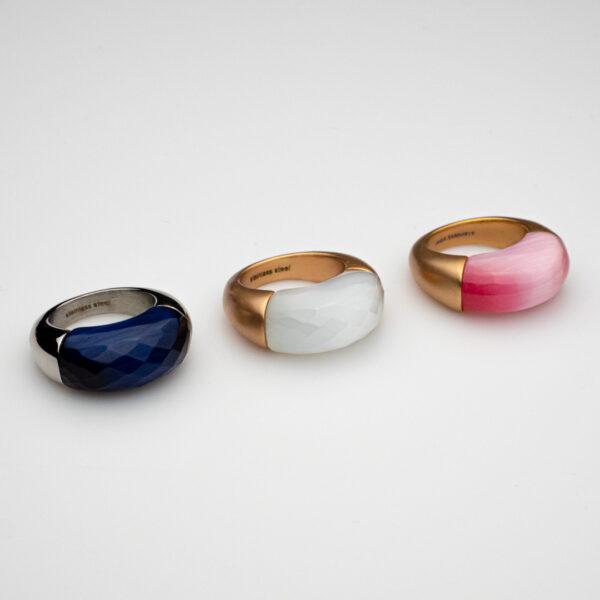 anello acciaio o bronzo