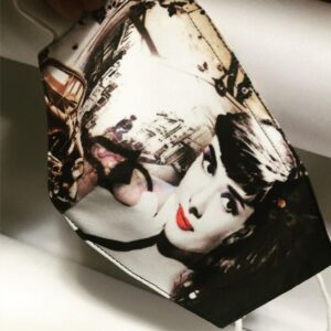 Mascherina Audrey Hepburn