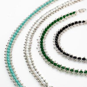 bracciale chain stone