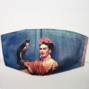 Mascherina Frida Kahlo falco