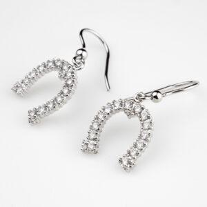 orecchini pendente horseshoe