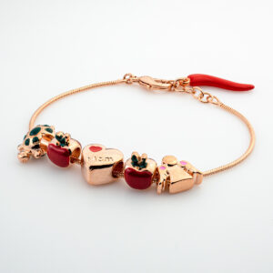 rosy luck - charm